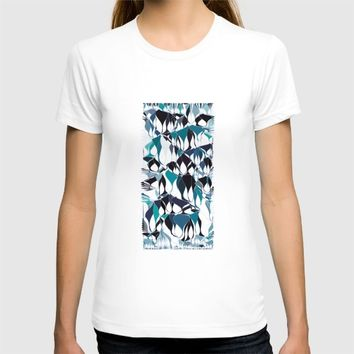 Abstract waves T-shirt by VanessaGF