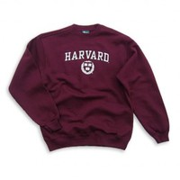 Harvard - Crest - Sweatshirt (Crimson) - Sweatshirts - Harvard
