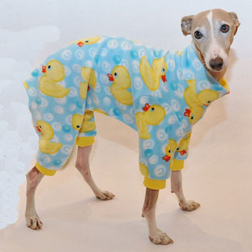 Rubber Ducky Dog Pajamas
