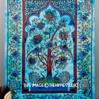 Tree of Life Hippie Tapestries, Tapestry Wall Hanging, Indian Tapestry, Bohemian Tapestries, Boho Bed Spread Tapestries, Dorm Decor Bedding
