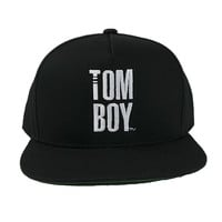 THE Tomboy Snapback Hat - Black