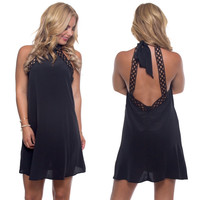 April Showers Dress In Black