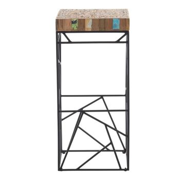 Rubic Bar Stool Black