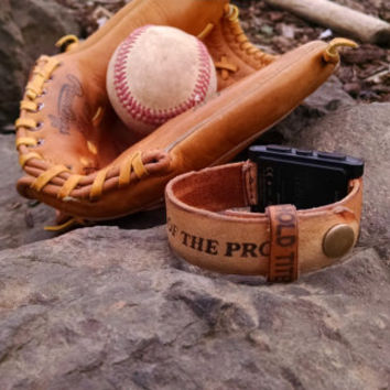 Baseball Glove Watchband. Custom made for YOU!