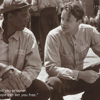Shawshank Redemption Movie Quote Poster 24x36