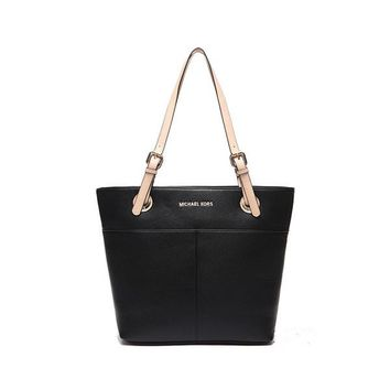 """Michael Kors"" Simple Fashion Tote Single Shoulder Bag MK Women Temperament Large Handbag"