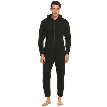 Sleepwear : Fleece Lined Onesuits Sleepwear