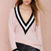 Boys Club Sweater - Pink