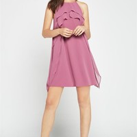 Women's BCBGeneration Dusty Orchid Woven Cocktail Dress