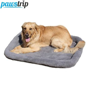 5 Size Pet Large Dog Bed Soft Fleece Warm Cat Beds Multifunction Puppy Cushion