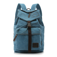College Hot Deal Comfort On Sale Back To School Stylish Casual Canvas Backpack [10648211779]