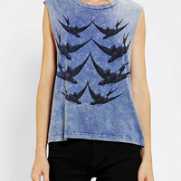 Truly Madly Deeply Birdcage Muscle Tee