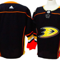 KUYOU Anaheim Mighty Ducks Jersey -  Black Blank Jersey