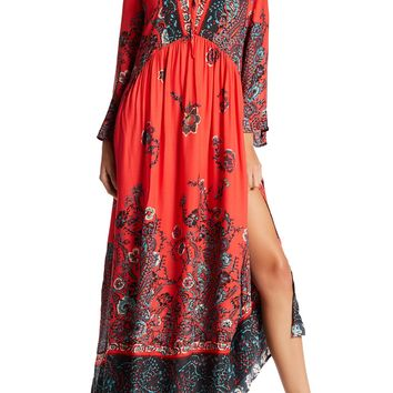 Free People | If You Only Knew Slit Maxi Dress | Nordstrom Rack