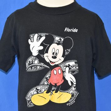 80s Mickey Mouse Disney World Florida t-shirt Youth Large