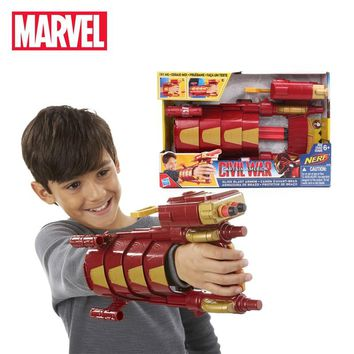 30cm Hasbro Marvel Toys the Avengers 3 Infinity War Captain America Civil War Slide Blast Armor for Kids Adult Cosplay Toy B5785