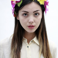 Samantha Floral Crown
