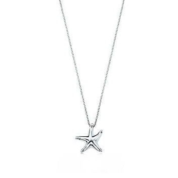 Tiffany & Co. - Elsa Peretti® Starfish pendant in sterling silver.