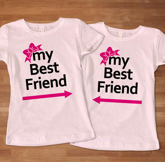 My Best Friend Woman Couples T Shirt From Sarimbittees On