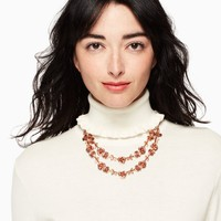 garden garland double strand necklace | Kate Spade New York