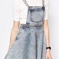 Sweet Denim Overalls For Woman - OASAP.com