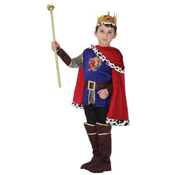 MOONIGHT 7 Pcs Hot Sale Halloween Cosplay Costume for Children The King Costumes Children's Day Boys Prince Party Costume