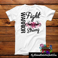 Breast Cancer Warrior Fight Strong Shirts