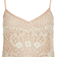 Heavy Embellished Cami Top - Tops - Clothing - Topshop USA