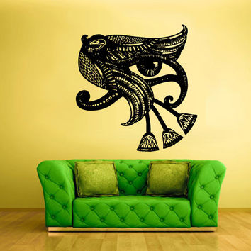Wall Vinyl Sticker Decals Decor Art Bedroom Design Mural Illuminati All seeing eye annuit coeptis (z2207)