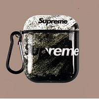 Nike Champion Supreme Bape Aape Chrome Hearts Fashion Cool iPhone Airpods Headphone Case Wireless Bluetooth Headphone Protector Case(No Headphones) 3#