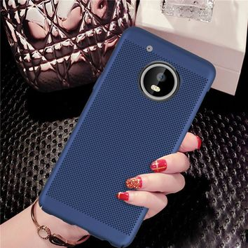 Newest design Cooling shell For Motorola Moto G5 Case Back cover For Motorola Moto G5 Plus Case Moto G5/G5 Plus phone cases