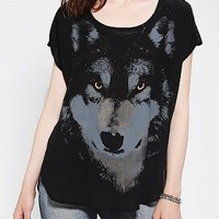 Blu Pepper Lone Wolf Studded Top