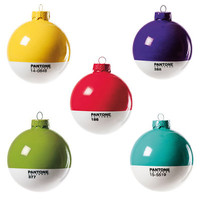 Pantone Christmas Baubles at Firebox.com