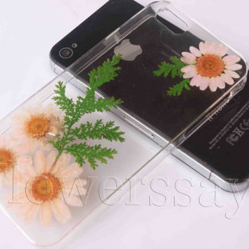 iPhone 6 case iPhone 6 plus Pressed Flower, iPhone 5/5s case, iPhone 4/4s case,  5c case Galaxy S4 S5 Note 2 note 3 Real Flower case NO:F305