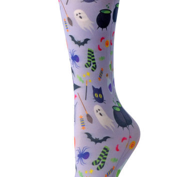Cutieful Therapeutic Compression Socks - Halloween