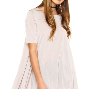 Fade Away Oversized Top