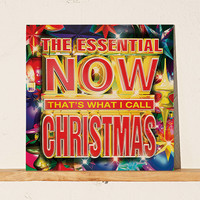 Various Artists - The Essential NOW That's What I Call Christmas LP | Urban Outfitters