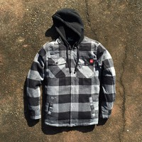 Boone Sherpa Lined Hoodie (SM)