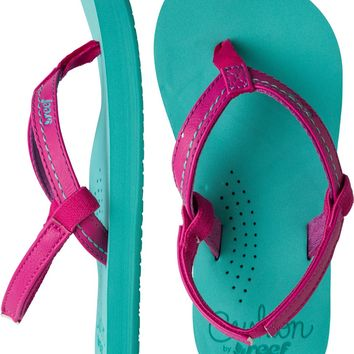 REEF TODDLER LITTLE STITCHED CUSHION SANDAL