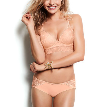 Super Soft Midline Push-Up Bralette - PINK - Victoria's Secret