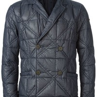 Emporio Armani double breasted quilted jacket