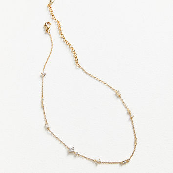Luv Aj Scattered Gem Choker Necklace | Urban Outfitters