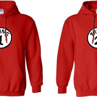 Thing 1 Thing 2 Two Matching Hoodies Dr.Suess in Red for 49.99 Add LastName or Date for a perfect gift