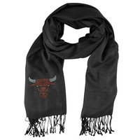 Chicago Bulls NBA Black Pashi Fan Scarf