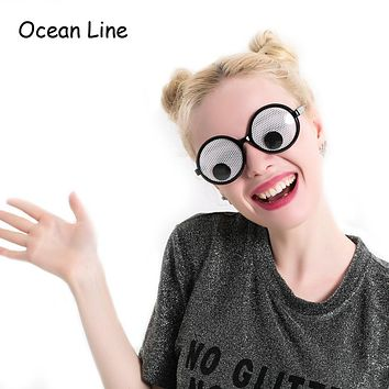 Funny Shaking Eyes Party Goggles