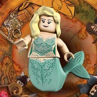 Lego The Mermaid Pirates of the Caribbean 4194 Minifigure