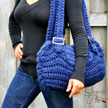 Crystal's Carry-All pdf Crochet Pattern (purse/bag)
