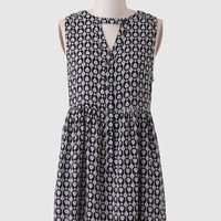 Film Noir Printed Dress