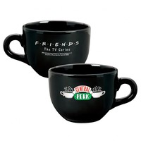 FRIENDS CENTRAL PERK OVERSIZED 24 OZ LATTE MUG - BLACK