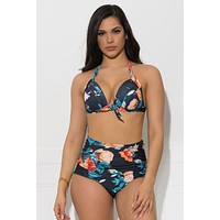 Rushing waters two piece swimsuit